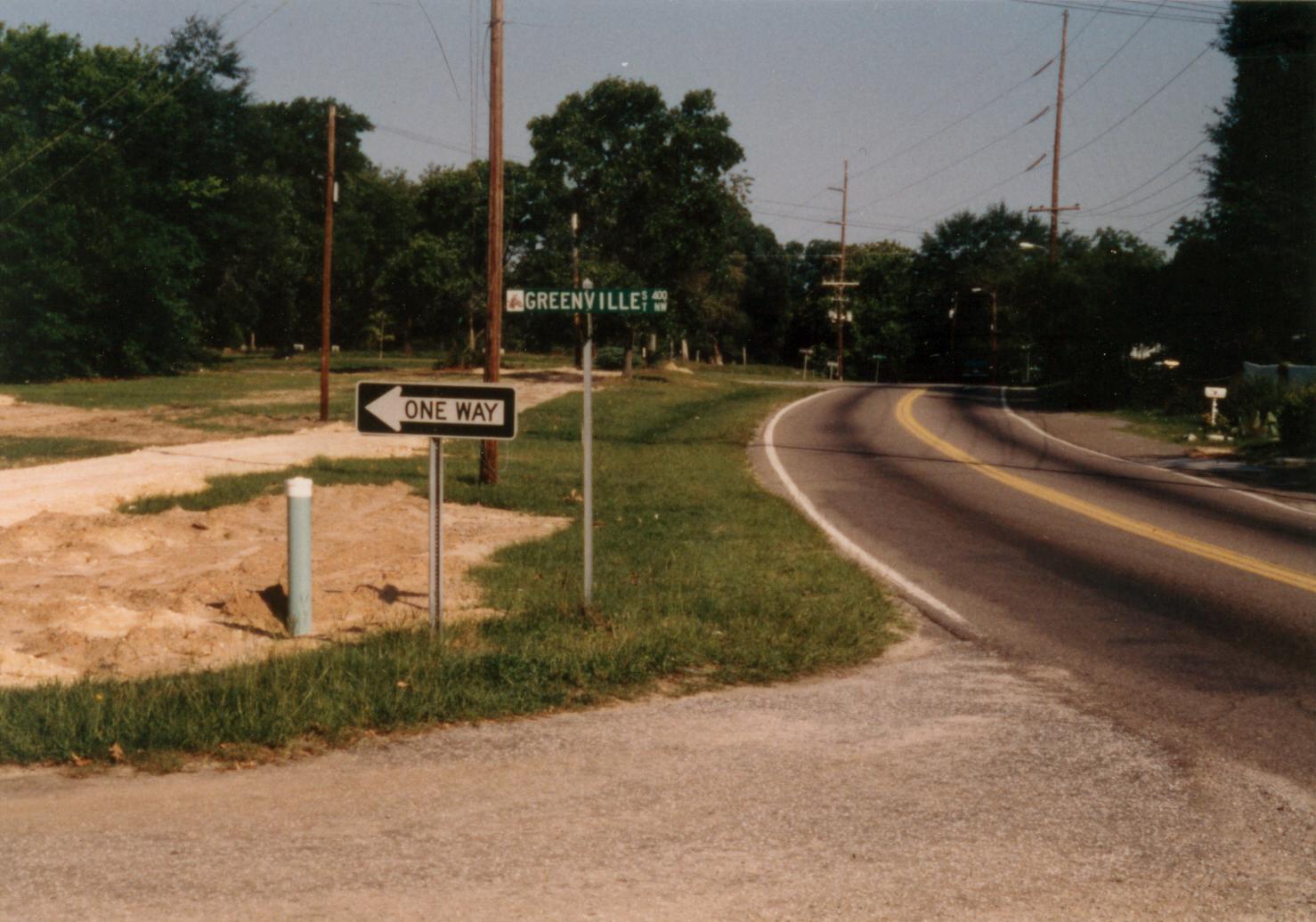 Greenville Street & Hampton Avenue looking west