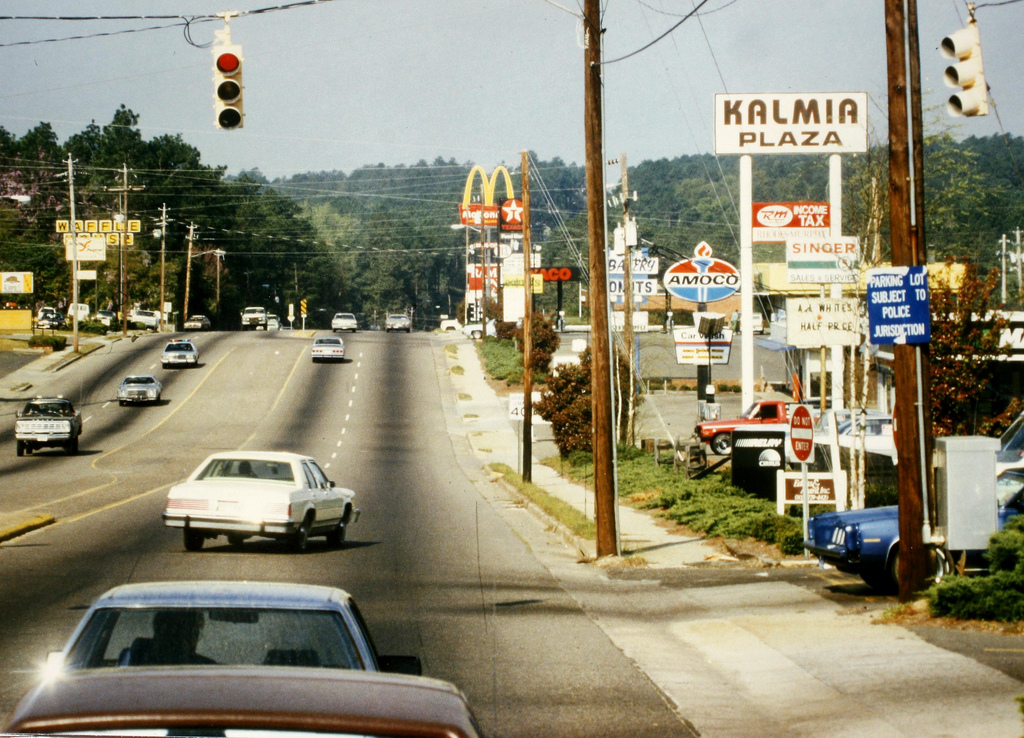 Richland Avenue looking west. 1980s